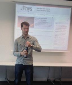 JPhys+ Launch Bubby