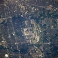 Astronaut Photography of Columbus Ohio taken from the International Space Station (ISS)
