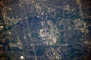 ISS023-E-54632, Photography of Columbus, Ohio taken from the International Space Station (ISS)