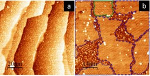 STM topographies of Si on Ag(1 1 1)