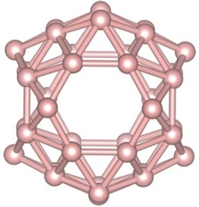 The structure of B38 fullerene. Ma et al J. Phys.: Condes. Matter 27 203203.