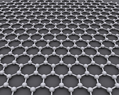 The ideal crystalline structure of a graphene layer