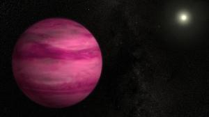 Artist's impression of exoplanet GJ 504b