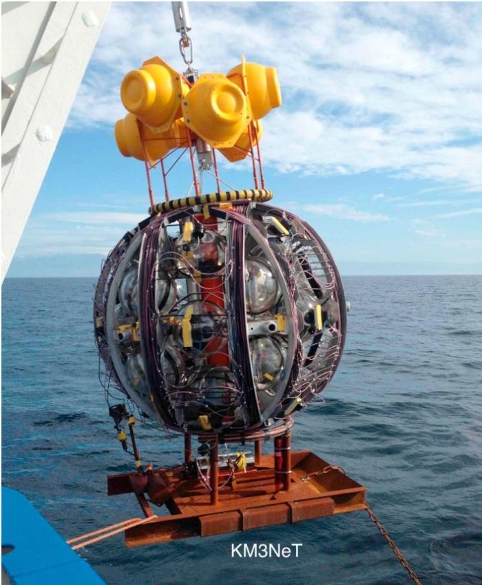 KM3NeT Launch vehicle deployment