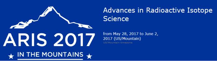 ARIS 2017 dates